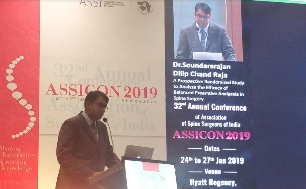 ASSI Travelling fellowship Award 2019