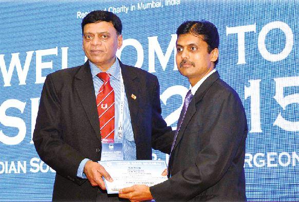 Best Research Paper Award in ISHKS 2015