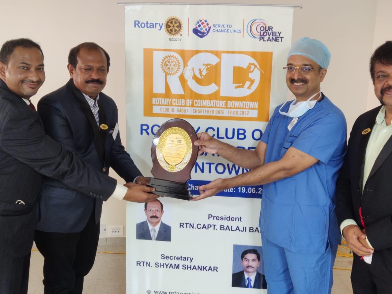 Maruthuva Rathinam Award