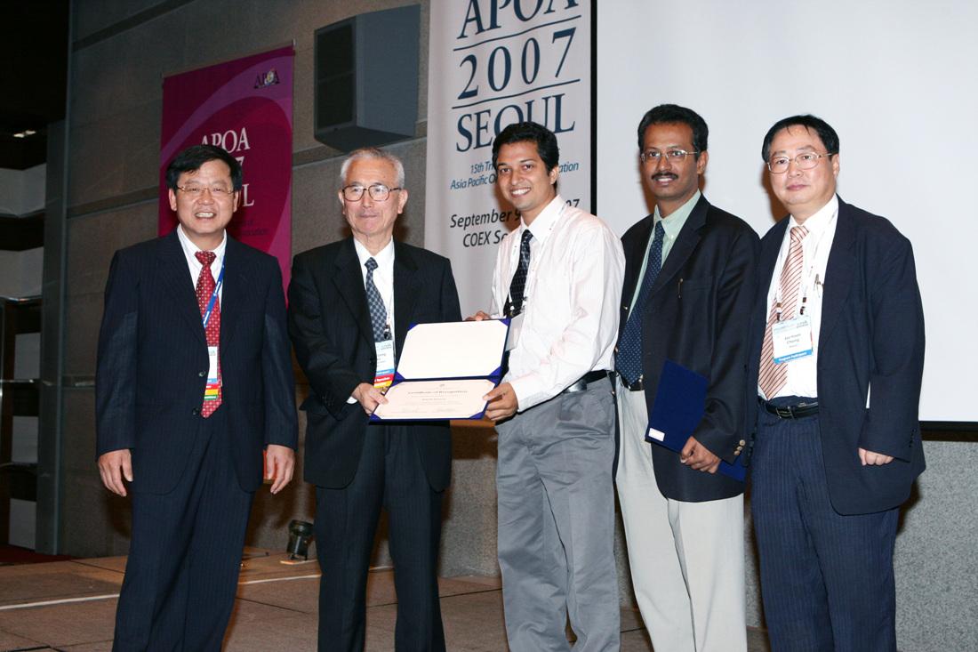 APOA Travelling Fellowship Award